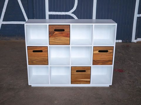 Tabled cubby cabinet 01