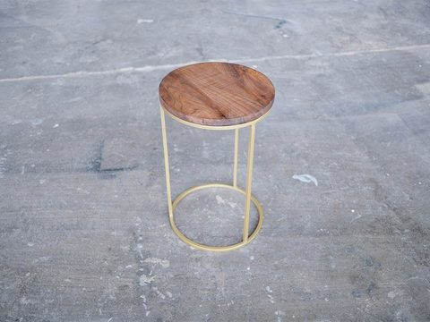 Tabled plug side table 1